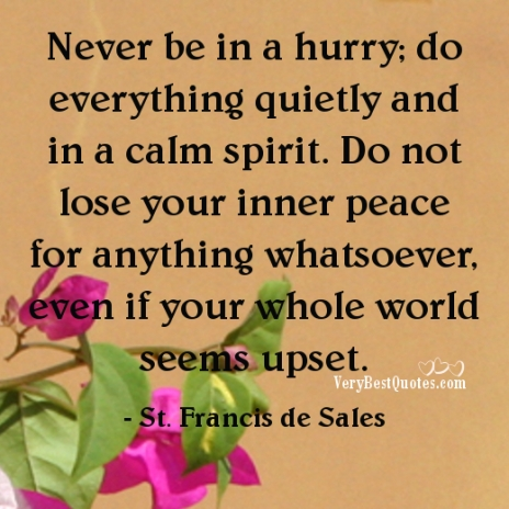 never-be-in-a-hurry-do-everything-quietly-and-in-a-calm-spirit-do-not-lose-your-inner-peace-for-anything-whatsoever-even-if-your-st-francis-de-sales